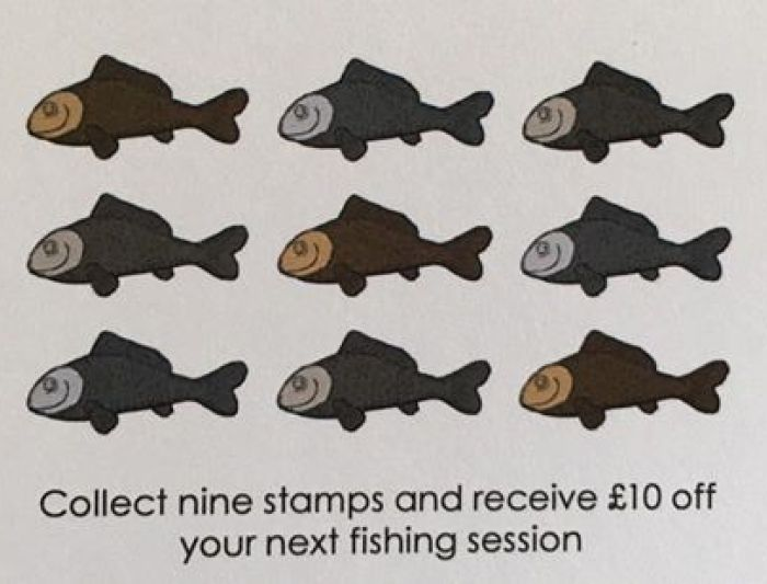 Wintons Fishery Loyalty Card